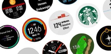 garmin forerunner 55 watchfaces widgets