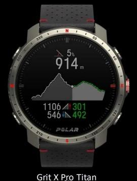 reloj polar grit x pro titan edicion limitada